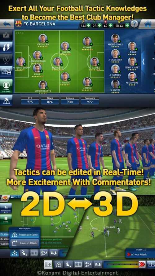 PES Club Manager gets new major update, adds commentary ...