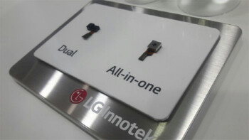 All-in-one iris scanner/camera sensor by LG showcased at KES 2016