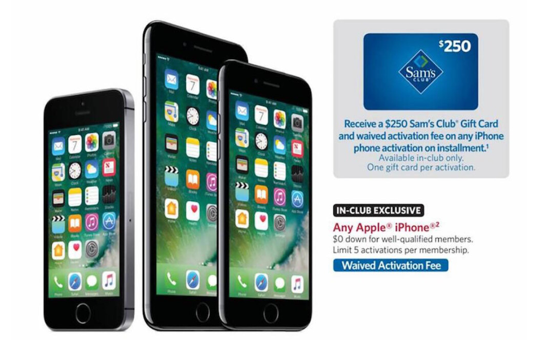 sams club iphone sam s club has one day deals on the iphone and pro 9 12910