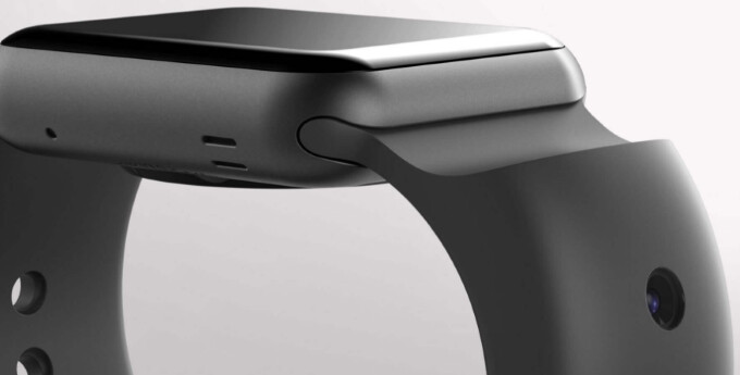 CMRA is an Apple Watch band with built-in cameras