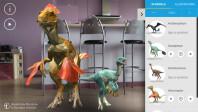 Dinosaurs Among Us for Google Tango