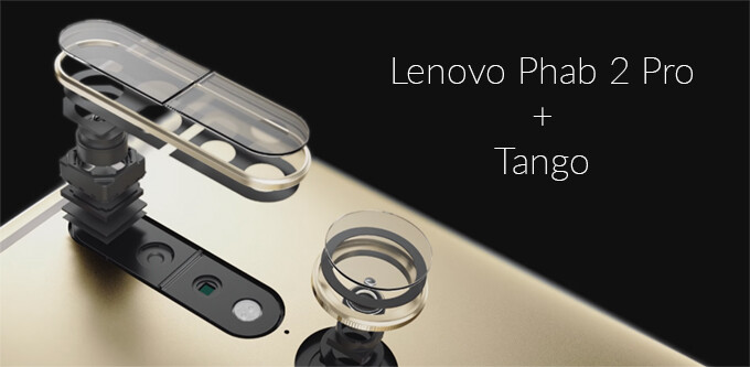 What can you do with the Lenovo Phab 2 Pro and Tango AR at launch?