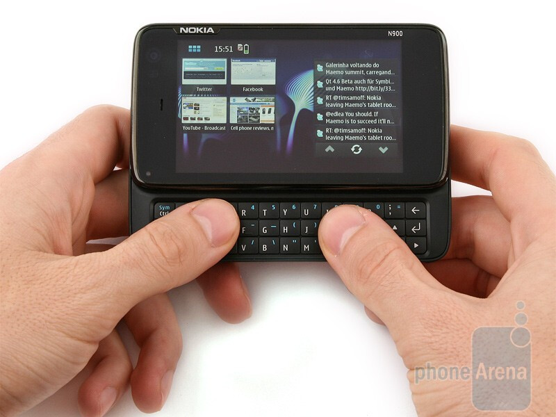 The Nokia N900 on its way to the stores