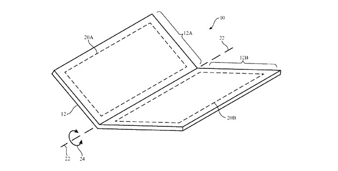 Apple granted patent for foldable/bendable iPhone