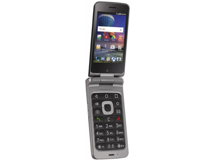 Want an Android flip phone? The ZTE Cymbal-T is now out in ...