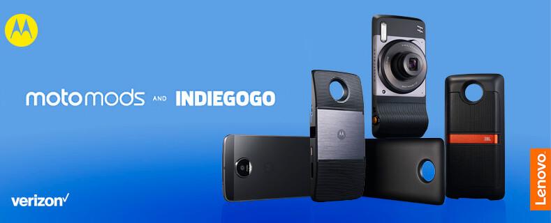 Motorola wants your ideas for Moto Mods, kicks off Indiegogo challenge