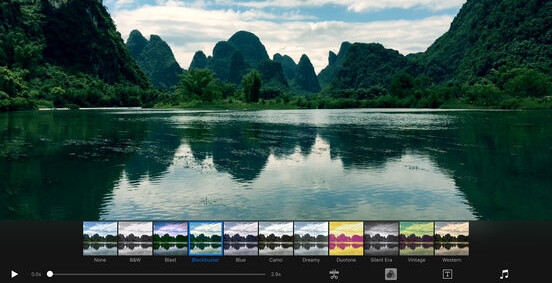 5 of the nicest video editing apps for iOS