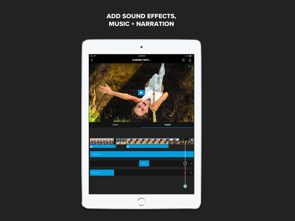 how to add music to splice app