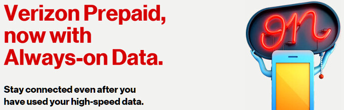 Verizon intros new 5 GB and 10 GB prepaid plans with Always