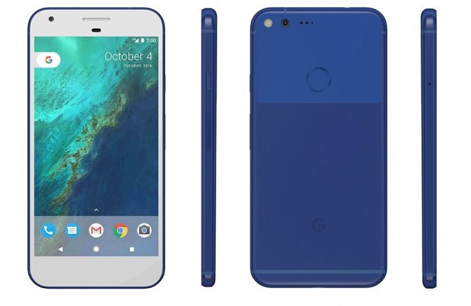 """Google promises to replenish the """"Really Blue"""" Pixel stocks in the U.S."""