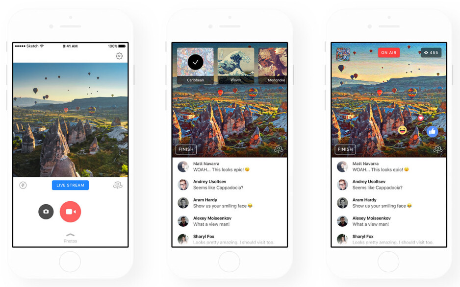 Prisma brings its art filters to Facebook Live