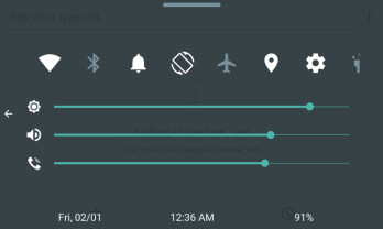 Spotlight: Quick Control Panel is like the Control Center of iOS, but for your Android device