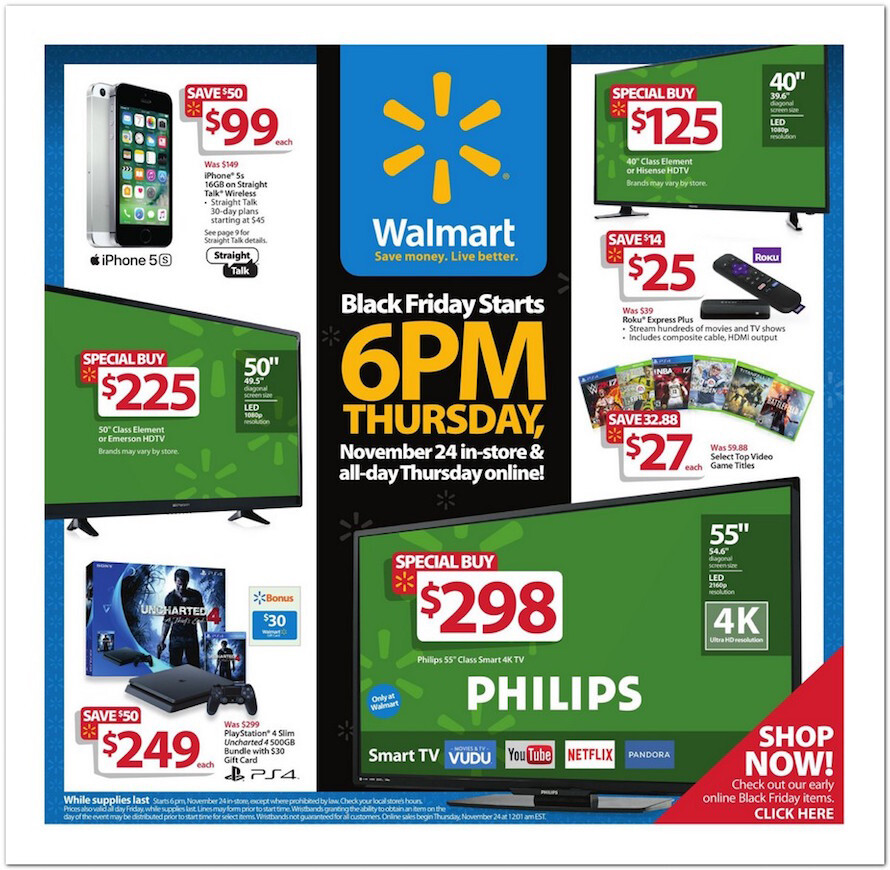 BestBuy and Walmart Black Friday ads leak - $250 gift cards with a ...