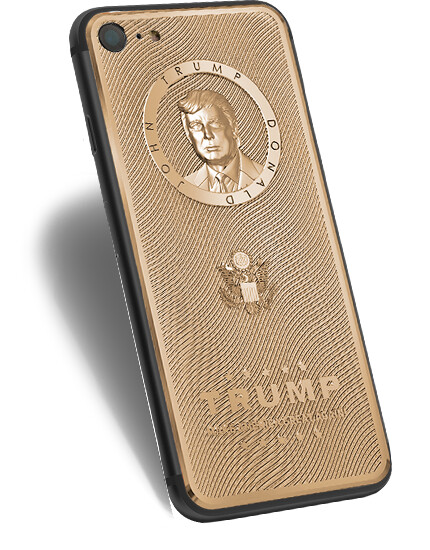 You can now buy a gold-plated 'Trump iPhone' from the same company that makes a gold 'Putin iPhone'