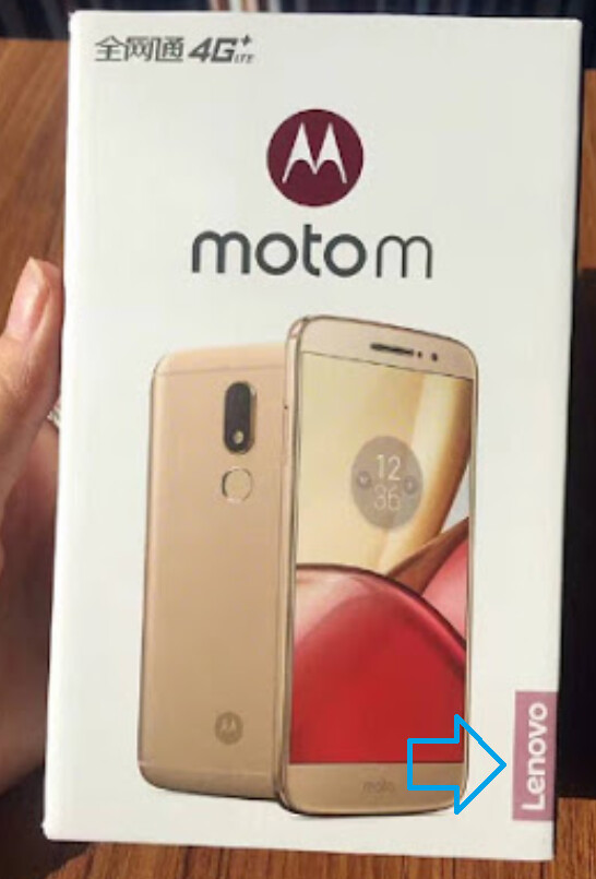 The Lenovo name appears on the box of the just unveiled Moto M - 2017 Moto roadmap leaks revealing the return of the Moto X?