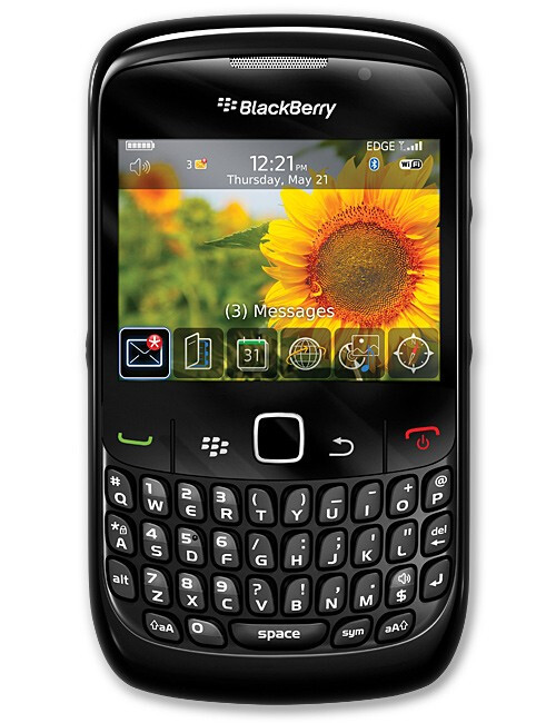 BlackBerry Curve 8520 - BlackBerry Curve 8520 and LG Shine II to reach AT&T in time for Holiday Sales
