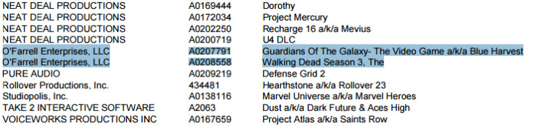 The leaked memo hinting Telltale could be working on a GotG-inspired video game - Telltale Games pegged to be making a Guardians of the Galaxy game, due out sometime in 2017