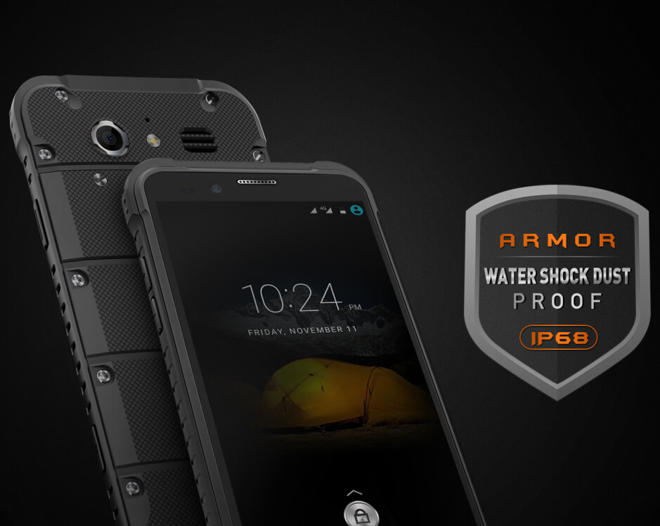 The Ulefone Armor is an affordable tank of a smartphone for the outdoorsy active types