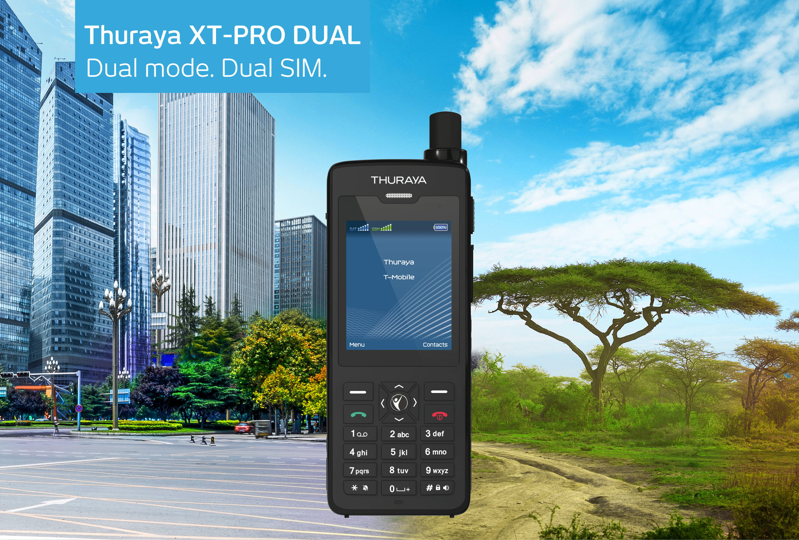 Thuraya launches world's first dual mode, dual SIM phone