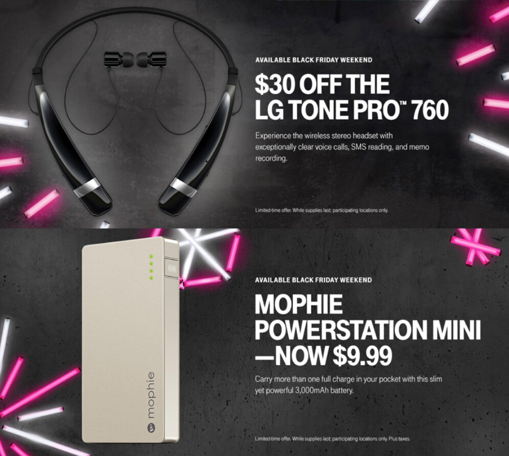 T mobile is giving away two free lines to new and existing customers during its magenta friday sale - Black friday mobel ...