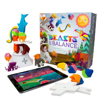 Beasts of Balance basic set and DIY artefacts set - Beasts of Balance is a new breed half digital, half traditional board game