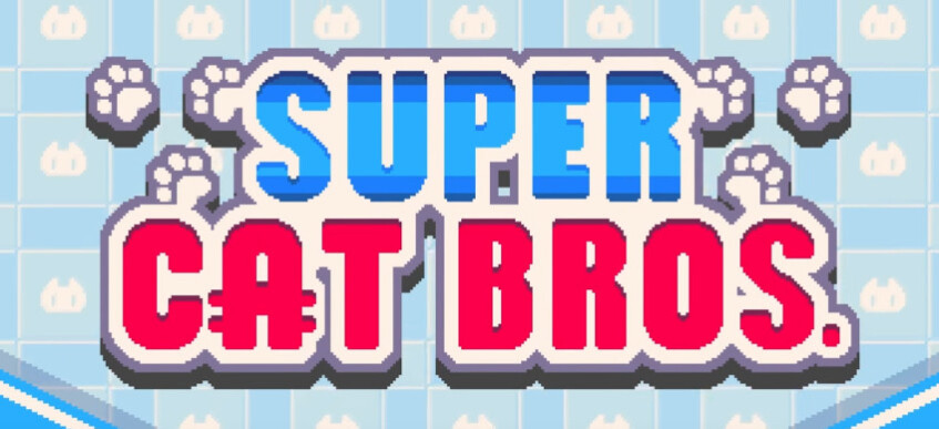 Super Cat Bros is a fun new platforming game for iOS and Android inspired by Nintendo classics of yore