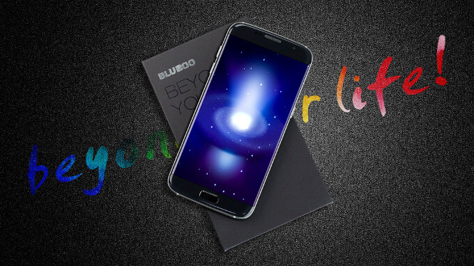 The Bluboo Edge sports a borderless display and a light price-tag