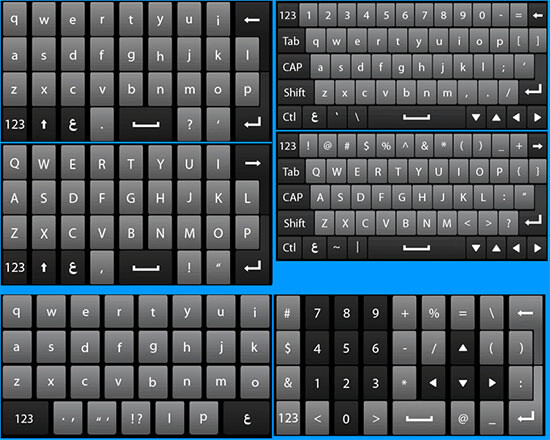 Updated Windows Mobile 6.5 to bring new keyboard, more capacitive friendly UI?