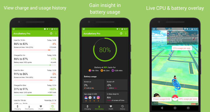 AccuBattery is a battery life monitor on steroids, helps you get longer life out of your battery