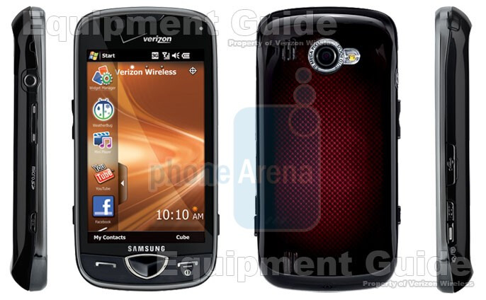 A few more pictures of the Samsung Omnia II for Verizon