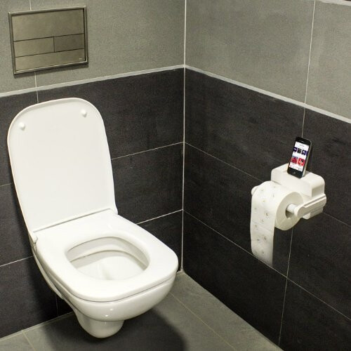 iCarta – the Bluetooth toilet paper holder