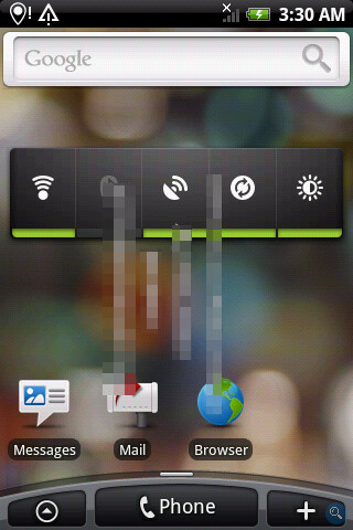 Android 2.1 with Sense UI leaked for HTC Hero
