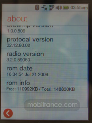 HTC Touch.B is NOT Android but is BrewMP powered phone