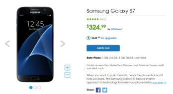 Deal Get The Samsung Galaxy S7 At Just 324 99 From Cricket Wireless Phonearena