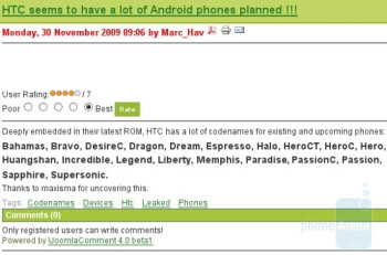 Would you buy an HTC Huangshan?