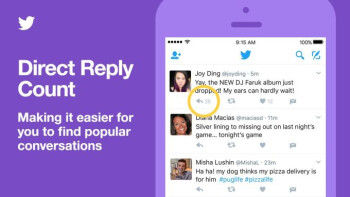 'Reply Counter' and 'Conversation Ranking': Twitter lets you find your popular conversations