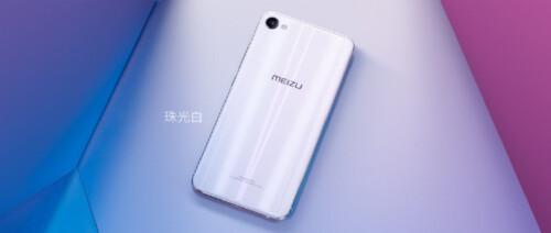 The Meizu M3X in Pearl White