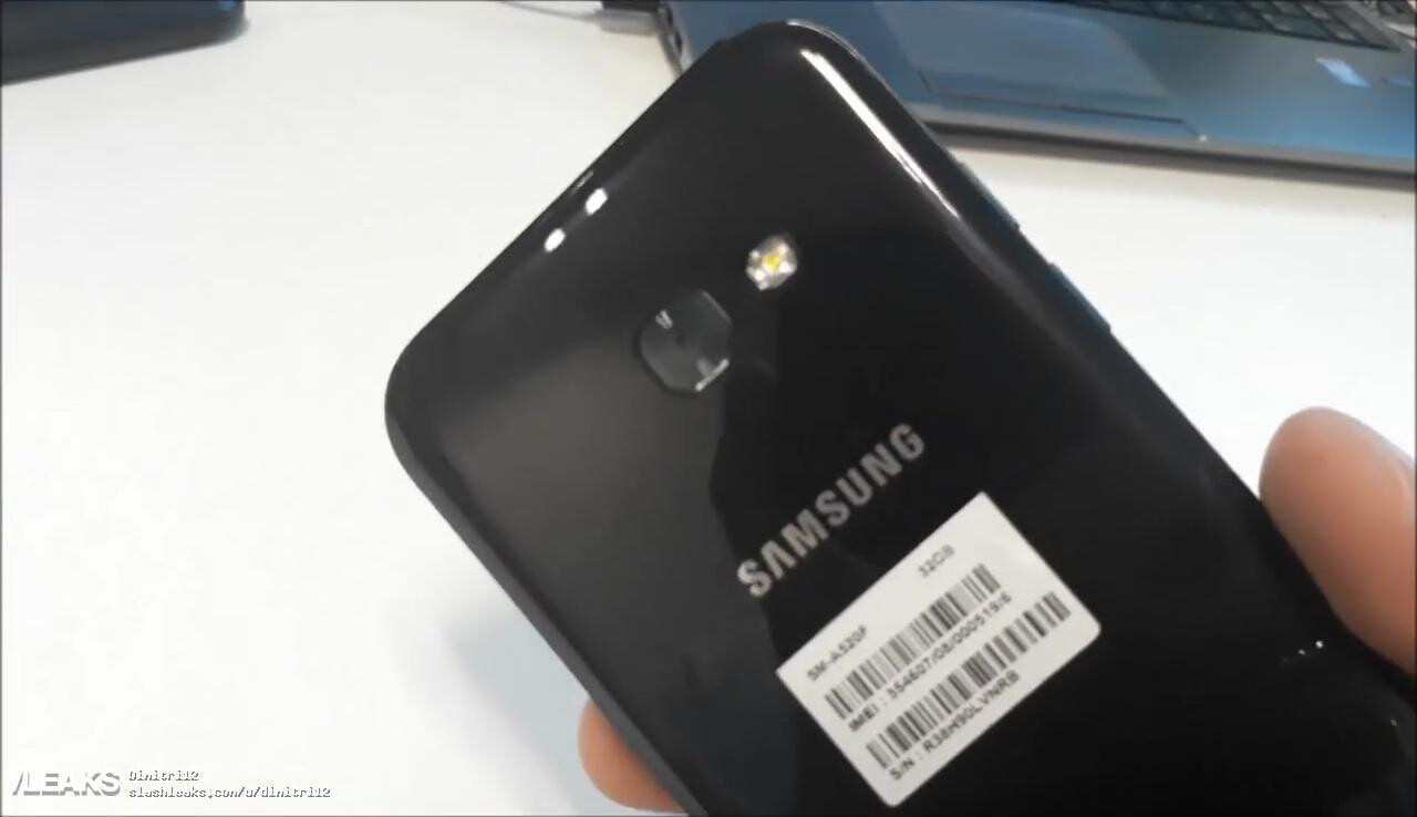 samsung galaxy a5 2017 hands on video and photos leak out. Black Bedroom Furniture Sets. Home Design Ideas