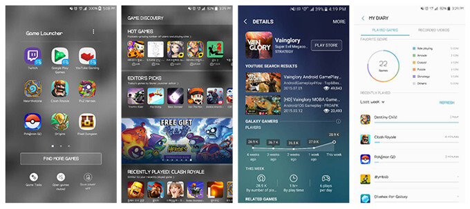 Samsung's Game Launcher 2.0 update brings curated discovery, game tools for regular apps