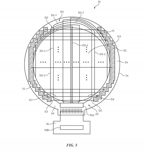 Apple's circular wearable patent application