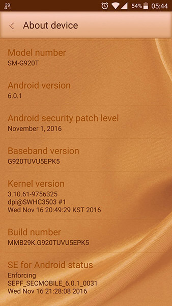 T-Mobile rolls out November security update to Samsung Galaxy S6/S6 edge