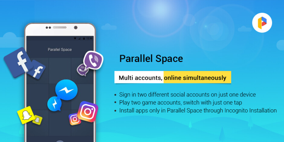 Spotlight: Parallel Space lets you run multiple accounts of one and the same app simultaneously