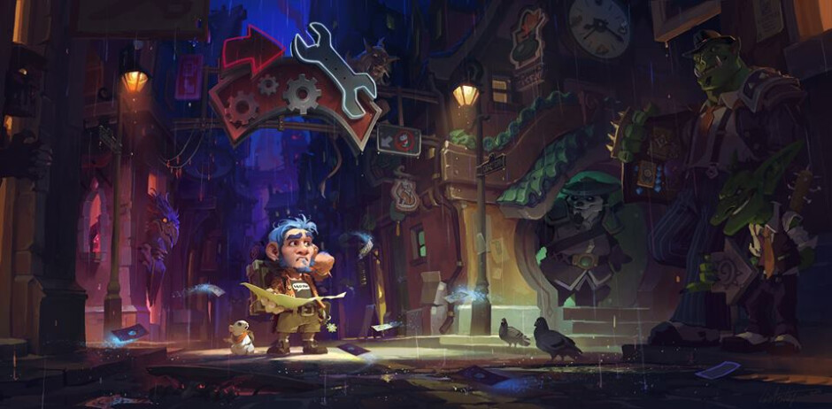 Mafia-themed Hearthstone: Mean Streets of Gagdetzan is now live, here are all 132 new cards