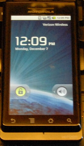 Motorola DROID software update page is posted by Verizon (new video)