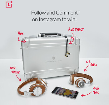 OnePlus lets you win a OnePlus 3T, plus some Master & Dynamic wireless headphones