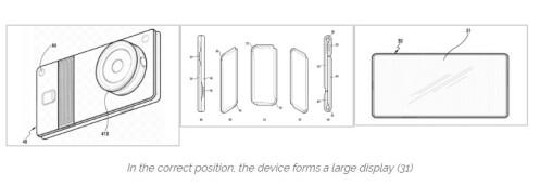 Samsung foldable device patent