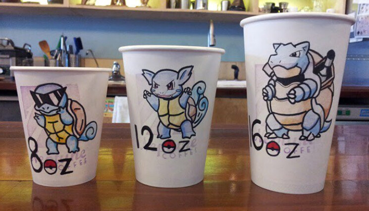 Picture allegedly shows that Starbucks will offer special Pokemon Go related coffee drinks