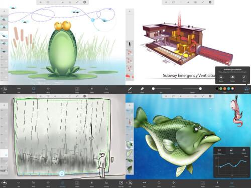 Sketchbook Motion - Best iPad app of 2016