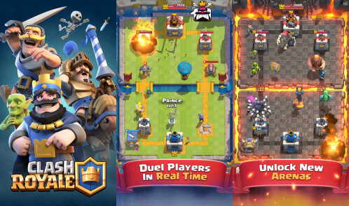 Clash Royale - Best iPhone game of 2016