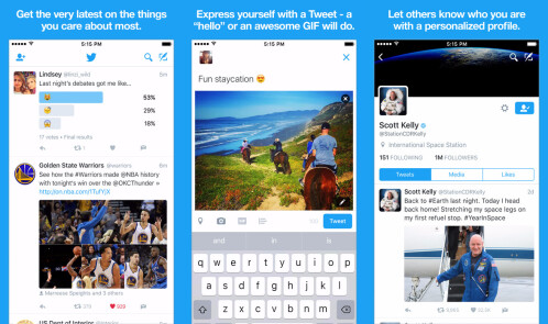 Twitter - Best Apple TV app of 2016